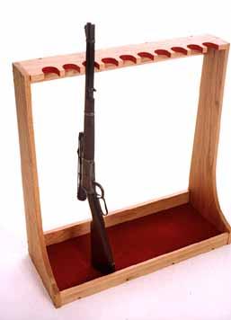 Stand Up Wooden Gun Rack Plans