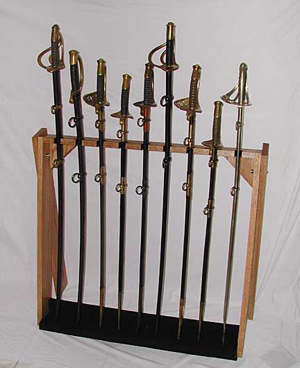 sword stands and displays